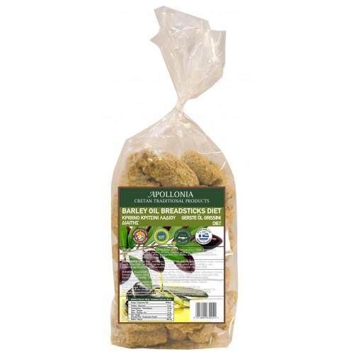 Olive Oil pretzels for diet 380-400 gr