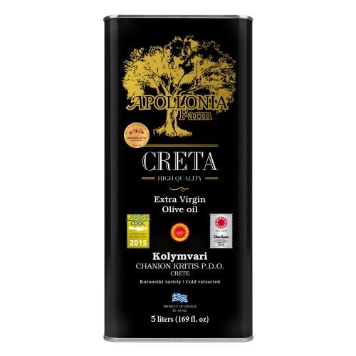 Extra virgin olive oil of Kolymbari PDO 5L