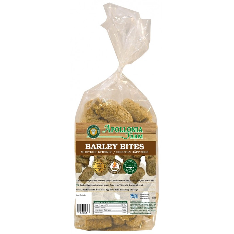 BARLEY BREADSTICK WITH YEAST 500gr