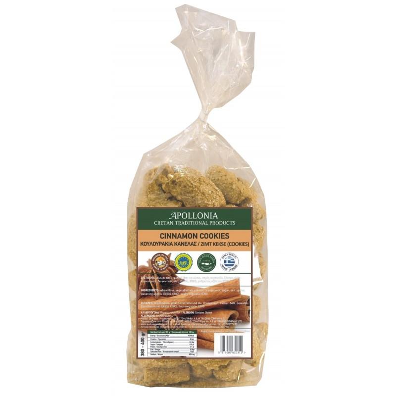 Cinnamon pretzels 380-400 gr