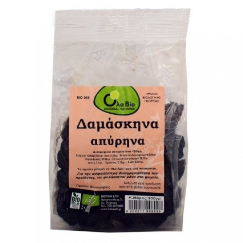 Prunes without stone BIO 200gr