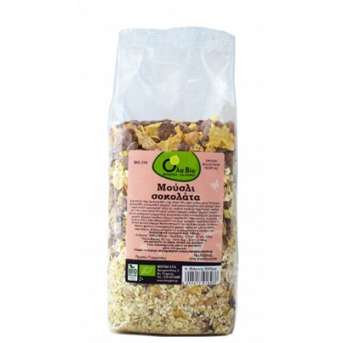 Muesli chocolate ΒΙΟ 300gr