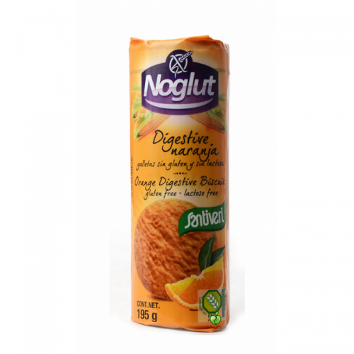 Santiveri noglut digestive orange gluten-free orange cookies 195gr