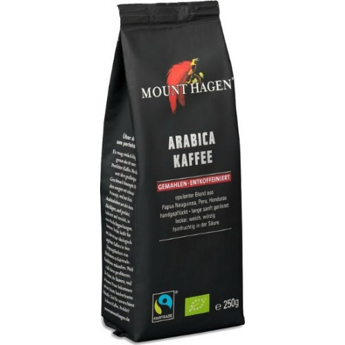 Mount Hagen Filter Arabica Decafeine Bio 250gr