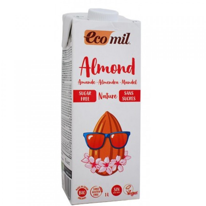 Almond drink natural sugar free ΒΙΟ 1LΤ