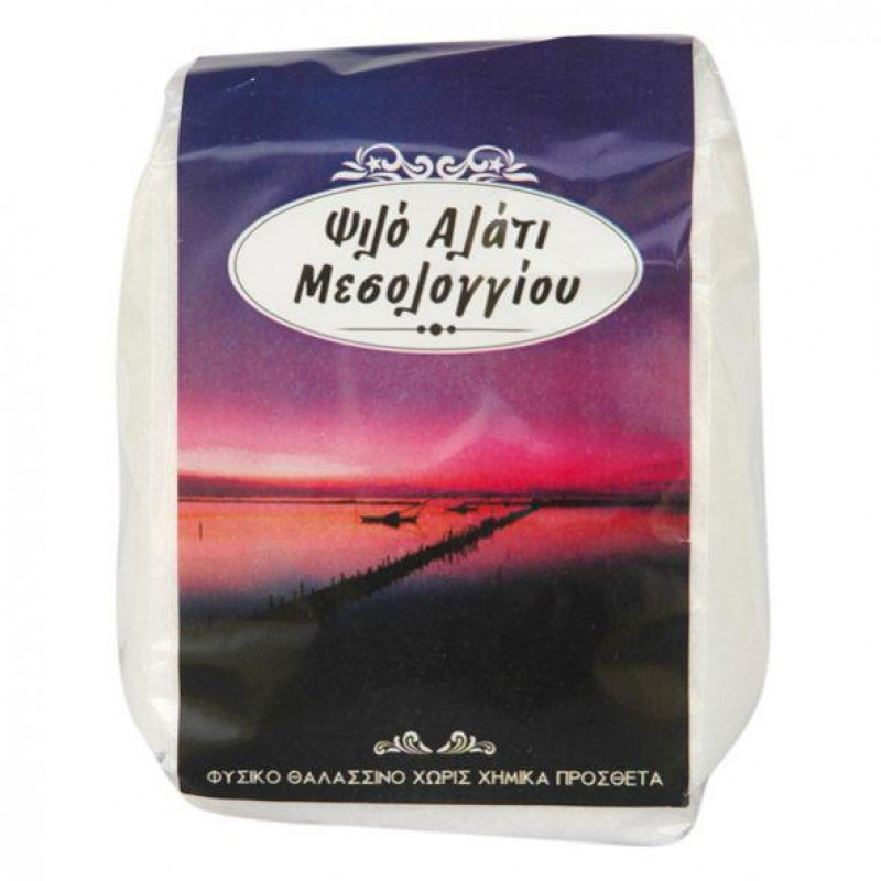 Mesolonghi salt fine 1000gr