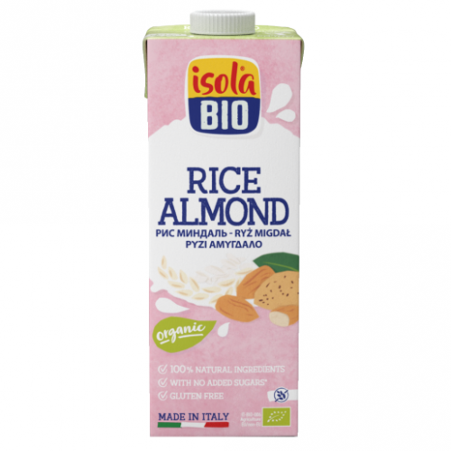 Isola Bio Almond Milk Sugar Free 1l