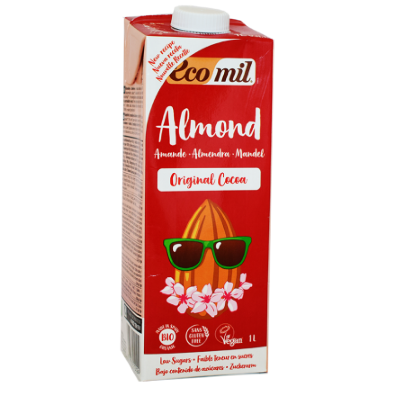 Almond drink chocolate ΒΙΟ 1LΤ