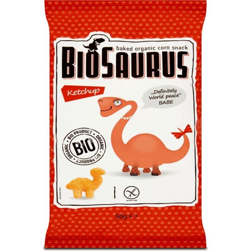 Dinosaur prawns with gluten-free ketchup 50gr