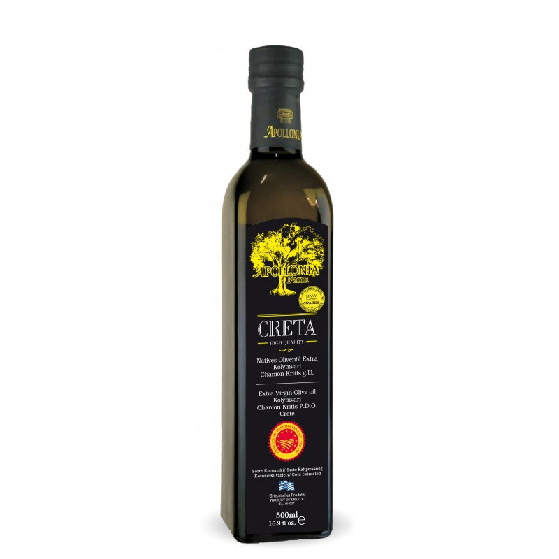 Olive oil extra virgin 500ml Pop glass