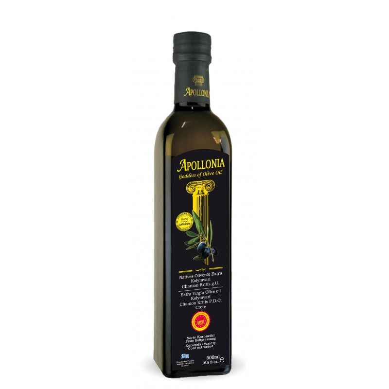 Extra virgin olive oil of Kolymbari PDO 500ml