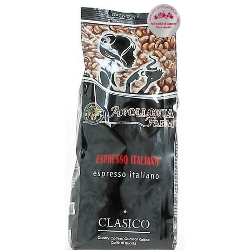 Apollonia Farm Cafe Espresso Italiano 80% Arabica  &  Robusta 20% 1kg