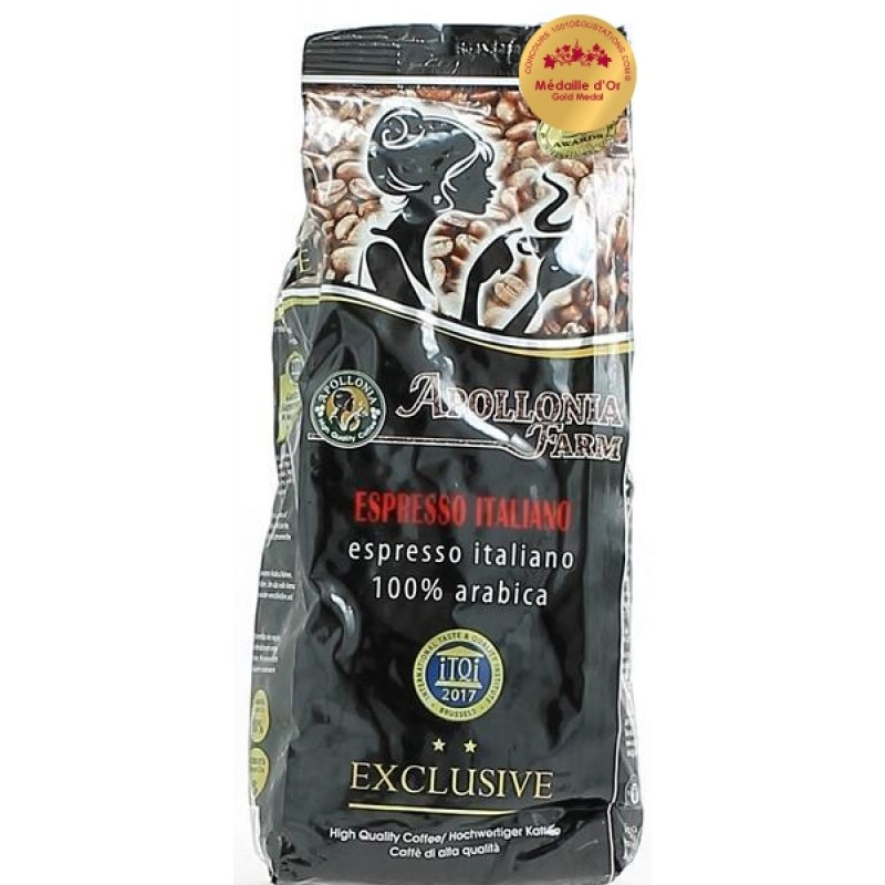 Apollonia Farm Cafe Espresso Italiano 100% Arabica  1kg