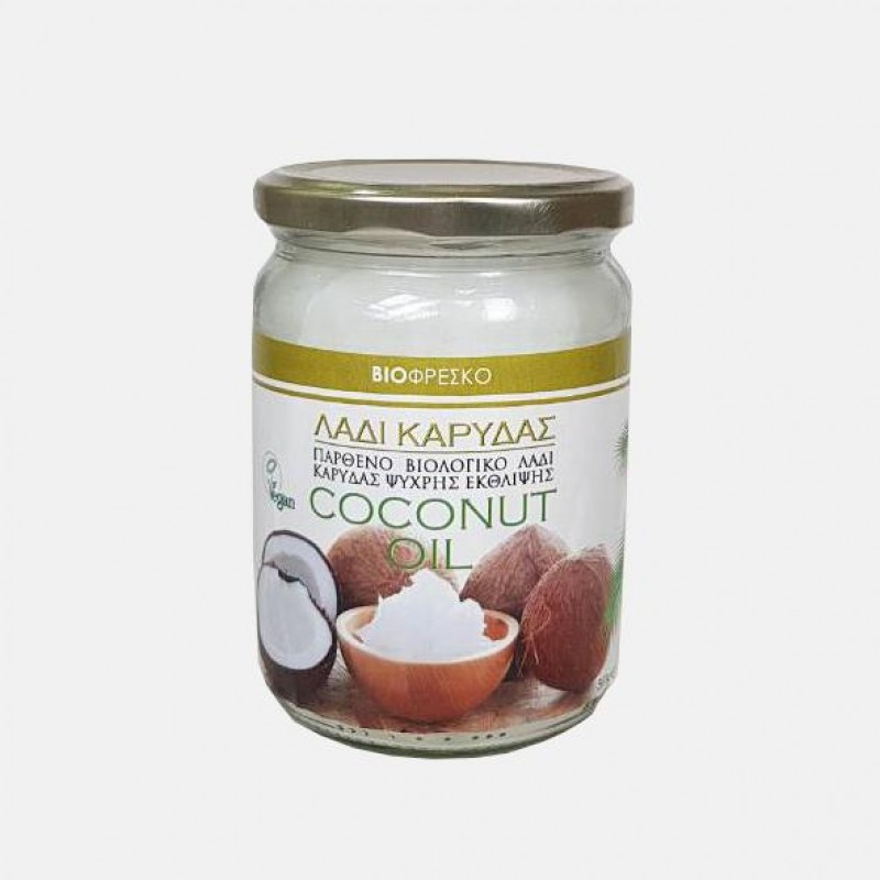 Virgin Organic Coconut Oil  500gr