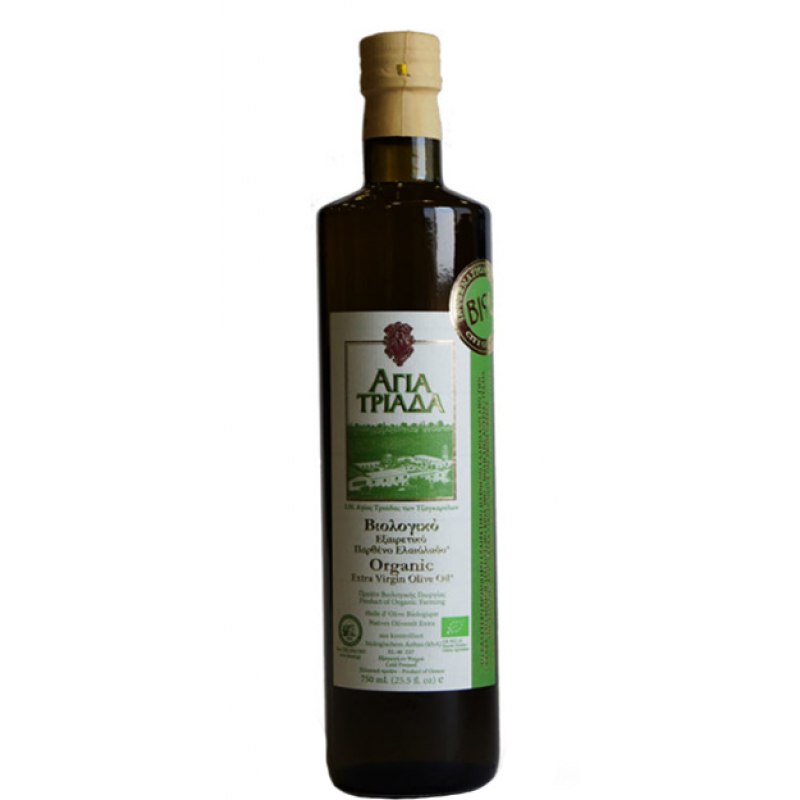 Olive oil extra virgin- I. M. Holy Trinity (glass packaging)