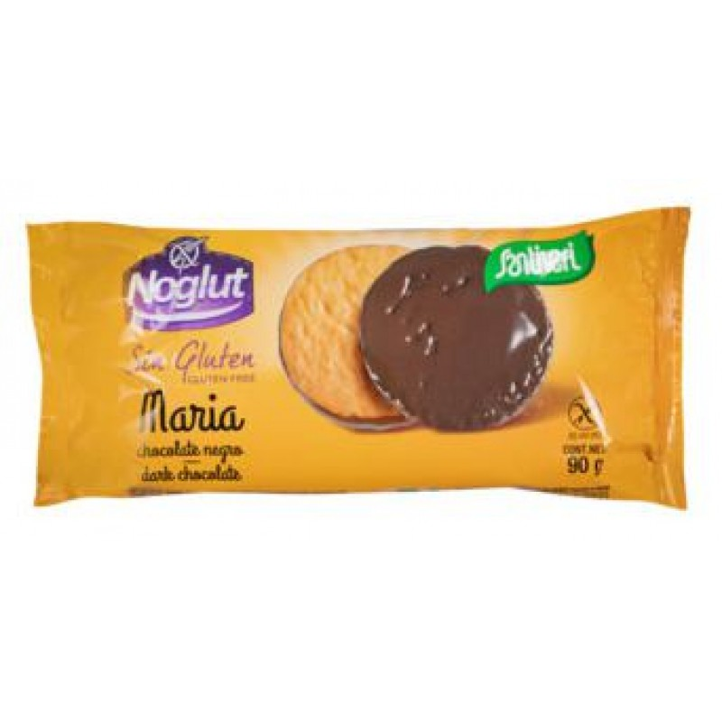 Santiveri Biscuits Maria Bathed with Dark Chocolate 90 gr