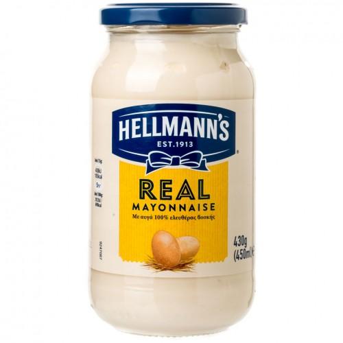 HELLMANN'S MAYONNAISE  450ml