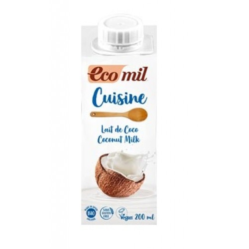 Ecomil Organic Coconut Cooking Cream
