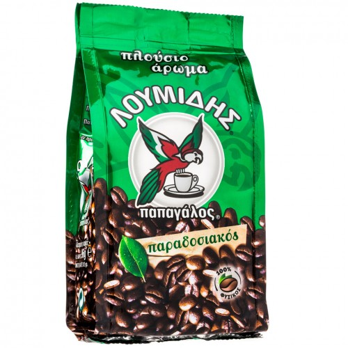 HELLENIC COFFEE LOUMIDIS - PAPAGALOS 96gr