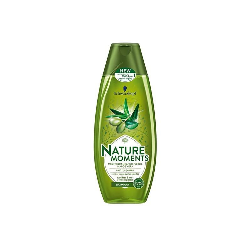 NATURE MOMENTS Shampoo Olive Oil 400ml