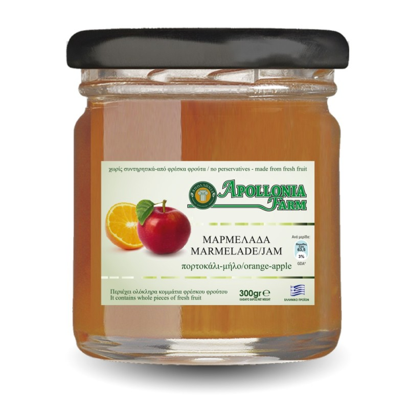 ORANGE-APPLE Marmelade 300gr