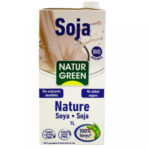 Soya drink natural ΒΙΟ 1LT