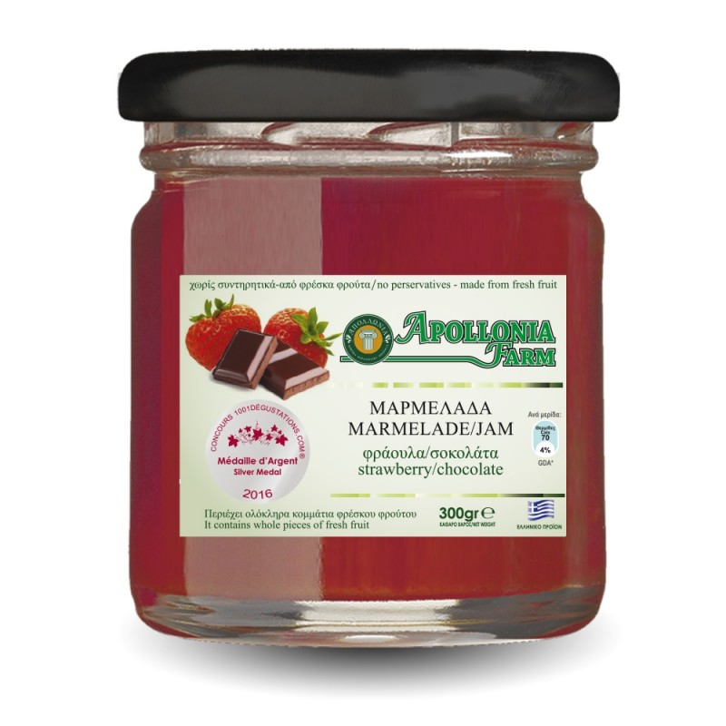 Chocolate-Strawberry Jam 300gr
