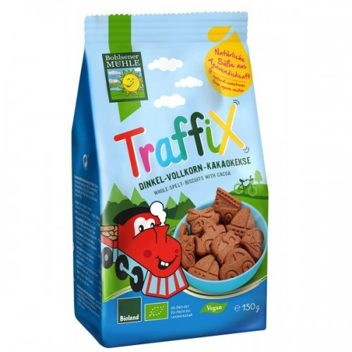 TRAFFIC BIOLAND Organic Chocolate Cookies, 150gr